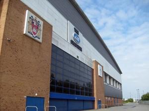 The JJB Stadium, June 2009