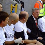 Alex Ferguson is not concerned about whatever's going on at the Wigan bench