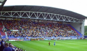 Wolves were cheered on by a good travelling support