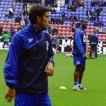 Jordi Gomez in training