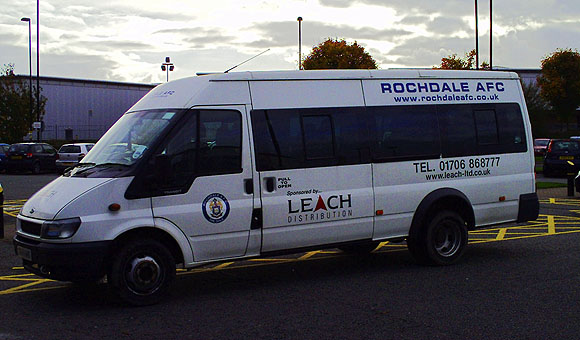 Rochdale AFC team coach