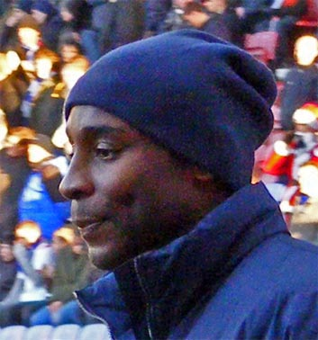 Jason Roberts made a cameo appearance to close out the game for Rovers.