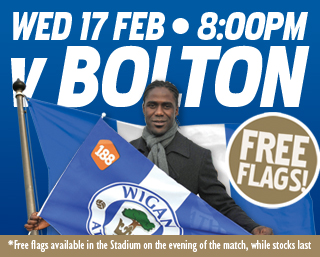 Wigan-Bolton Flag Day
