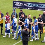 Pre-match handshake