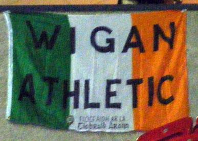 Latics Irish flag