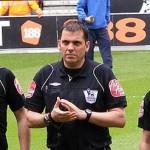 Match officials pre-game