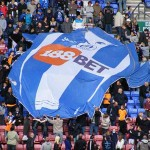 Really big Latics shirt