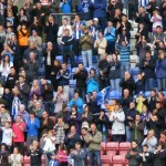 Latics fans applaud their heroes