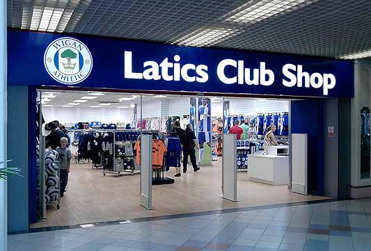 Latics Club Shop, The Galleries