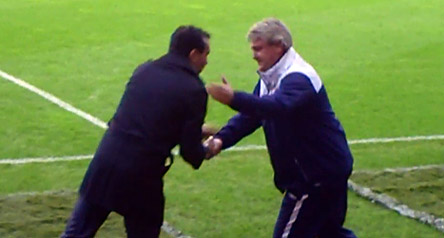 Roberto Martinez and Steve Bruce