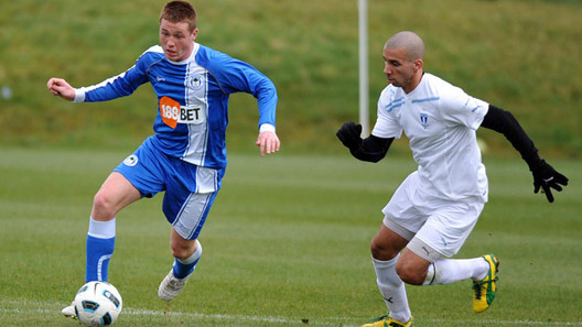 James McCarthy and Malmo FF's Guillermo Molins