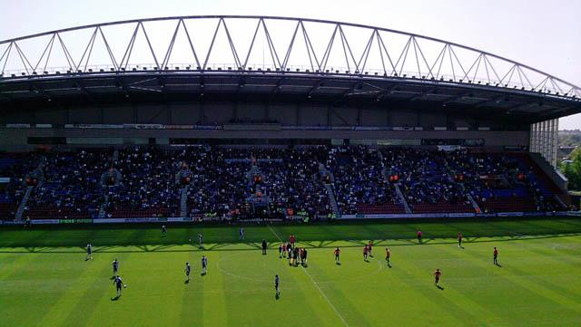 DW Stadium pre-Everton