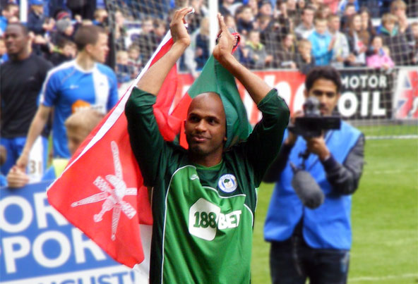 Al Habsi applauds the Latics fans
