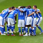 Latics huddle