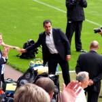 Martinez handshakes