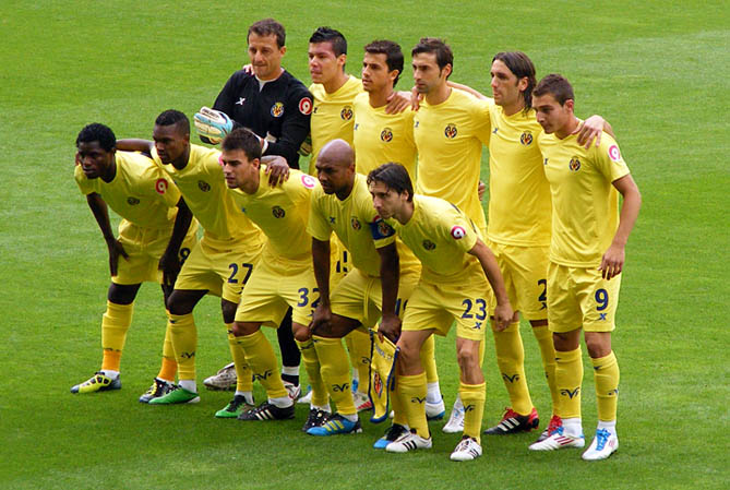 Villareal team photo