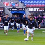 Latics emerge for warmup