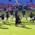 Latics warmup exercise