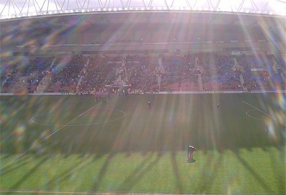 Sunshine at the DW