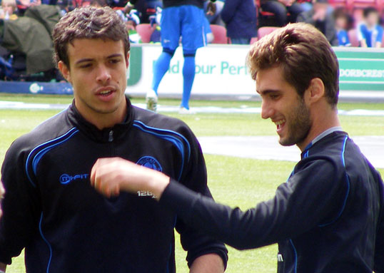 Franco Di Santo and Adrian Lopez