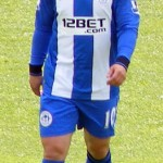 Shaun Maloney - 2012 Wigan Athletic home strip