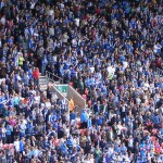 South Stand Wigan fans
