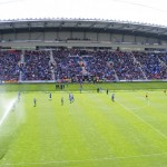 Wigan v Wolves warmup