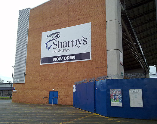 The Sharpy's Fish and Chips Stand