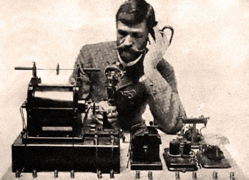 Frederick Collins Inventor 1904