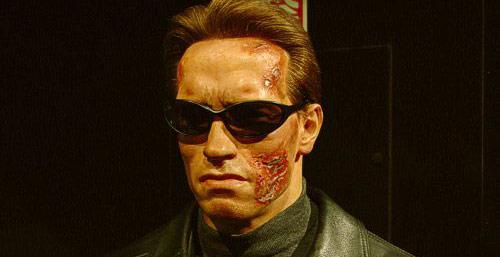 Arnold Schwarzenegger waxwork