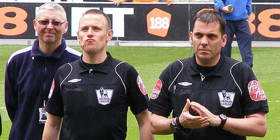 Phil Dowd and a friend