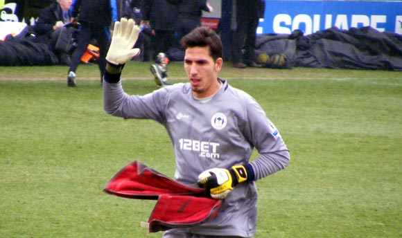 Welcome Joel Robles! Macclesfield v Wigan 26 Jan 2013