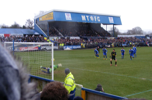 Jordi Gomez scores (when he wants) Macclesfield v Wigan 26 Jan 2013