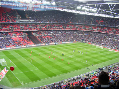 Wembley pre-match