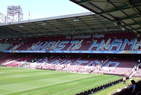 Upton Park Centenary Stand