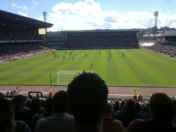 Barnsley v Wigan 3 Aug 2013