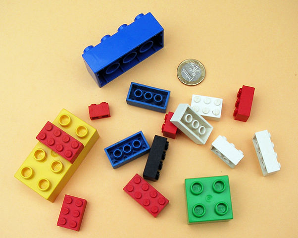 Wigan Athletic Lego bricks