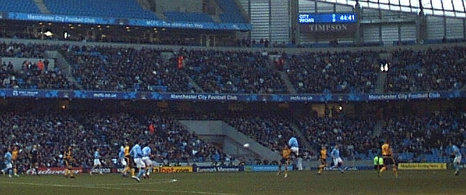 Man City v Wigan, FA Cup 4th Round, 2006