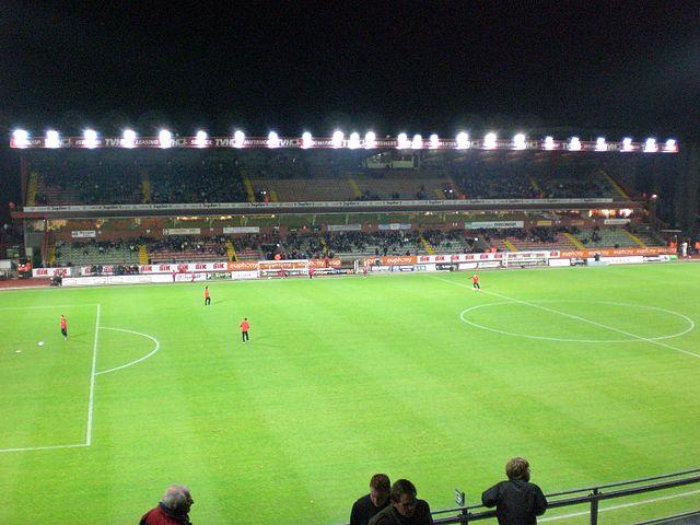 The Regenboogstadion, English: Rainbow Stadium.
