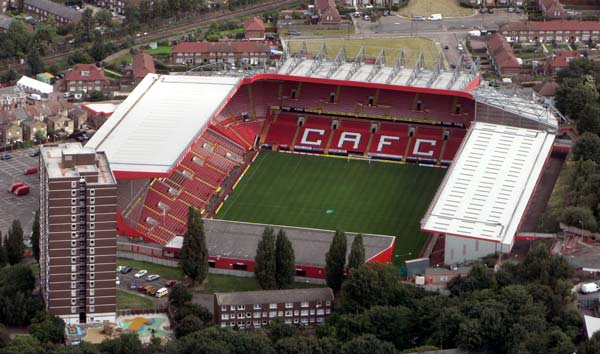 Charlton Athletic The Valley Stadium
