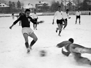 NK Maribor snow