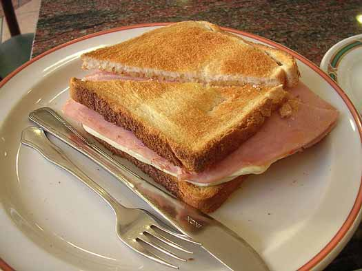 Toast butty