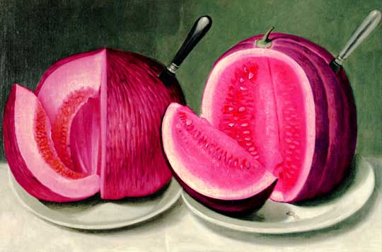 Pink melons