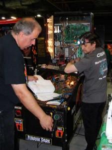 Pinball repairs