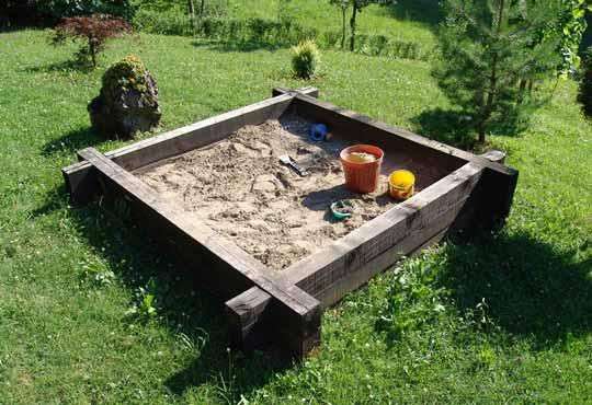 Sand pit Wigan