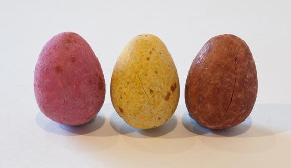 Three little eggs