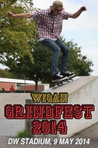 Wigan Grindfest poster