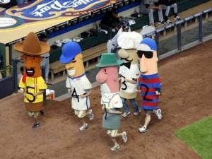 Sausage race