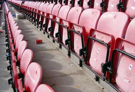 DW empty seats