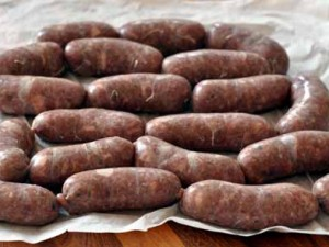 Meaty Sausages